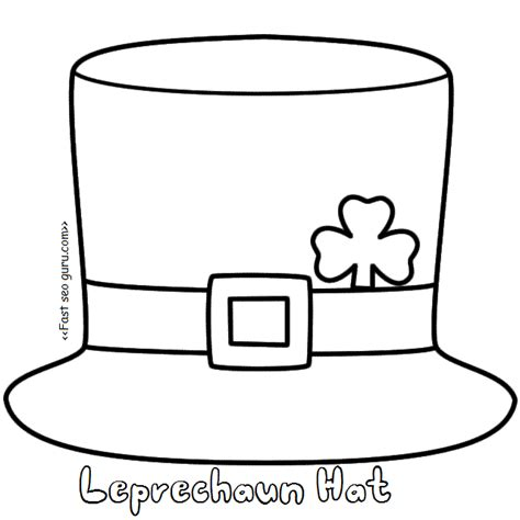 leprechaun template free 28 images printable