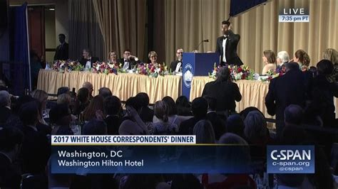 Span White House Correspondents Dinner by Live 2017 White House Correspondents Dinner