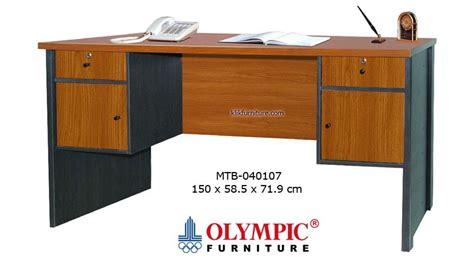 Termurah New Taplak Meja Anti Air Ukuran Lebih Besar meja tulis olympic 1 biro 040107 harga termurah promo