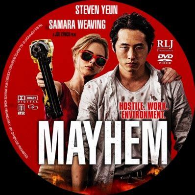 Watch Mayhem 2017 Full Movie Mayhem Dvd Covers Labels By Covercity