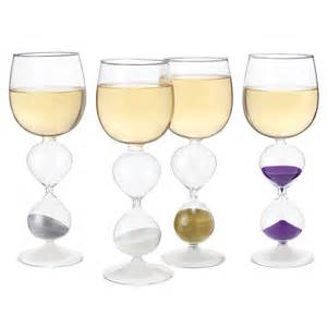 Unique Glassware Wine Hourglasses Set Of 4 Unique Wine Glasses
