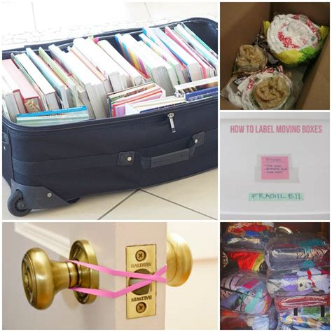 packing hacks for moving 25 clever moving hacks to make your move easier making