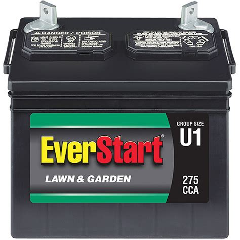 everstart lawn garden battery size u1p 7