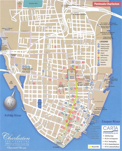 charleston sc map charleston tourist a lowcountry guide for visitors locals charleston sc maps