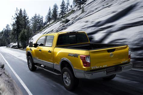 nissan turbo diesel 2016 nissan titan xd pick up for the us debuts cummins