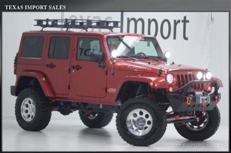Moab Industries Jeep For Sale Find New Moab Industries Custom 2014 Wrangler Unlimited
