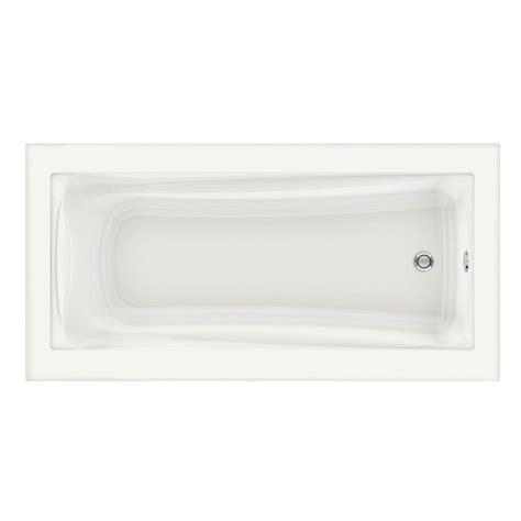 6ft Bathtubs by Aquatic Montrose Ii 6 Ft Reversible Drain Acrylic Soaking