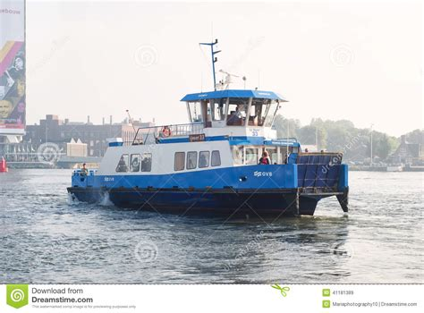 ferry boat amsterdam ferry boat connecting the city with the norther areas in