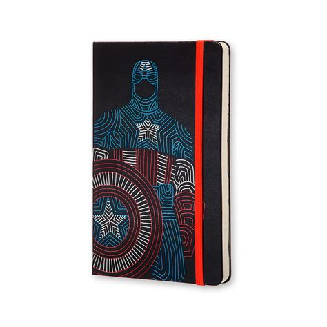 Journal Giveaway - moleskine avengers captain america journal giveaway winner officesupplygeek 174