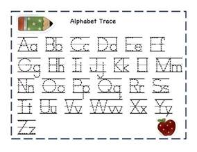 alphabet tracer pages for kids activity shelter