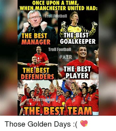 Mu Memes - once upon a time when manchester united had troll football