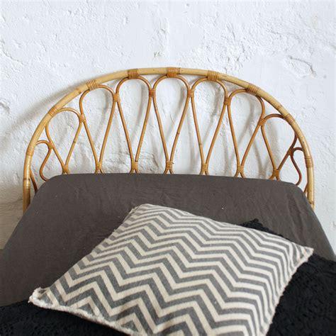 tete lit rotin lit rotin vintage forme corbeille atelier du petit parc