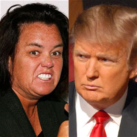 Donald Versus Rosie Odonnell A Real Lovehate Relationship by Bad Blood Check Out The 10 Meanest Feuds
