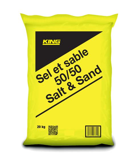 king 50 50 salt sand gt king home improvement products