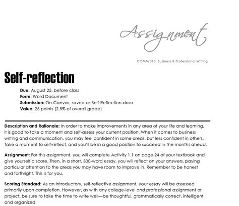 How To Write A Reflective Essay On Course by Reflective Essay 101
