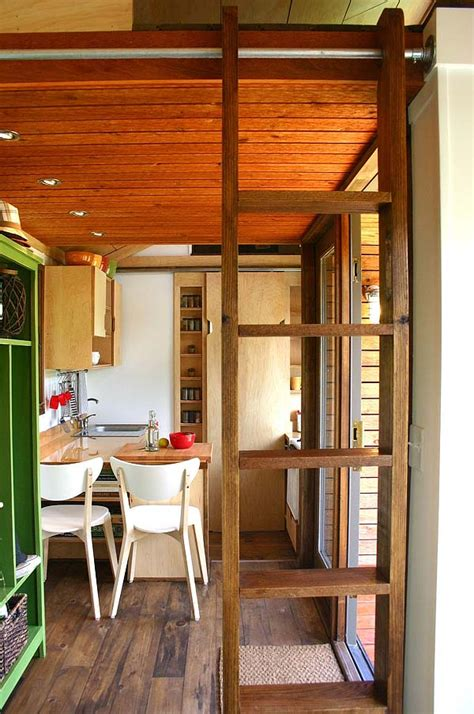 tiny house inside tall man s tiny house