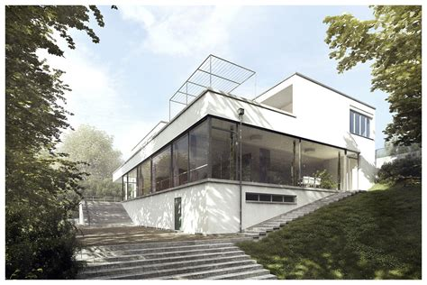 tugendhat house villa tugendhat 3d recreation by lasse rode 3d architectural visualization