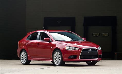 mitsubishi lancer sportback car and driver