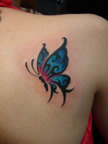 colorful butterfly tattoos small tattoos archives chronic ink