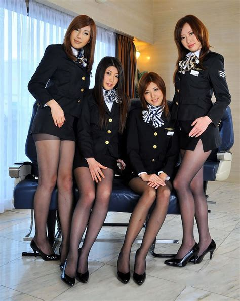cabin attendant pretty stewardess thread v1