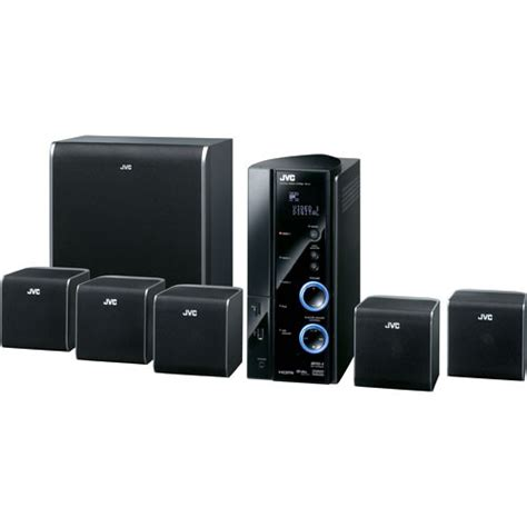 jvc thl1 360w home theater system thl1 b h photo