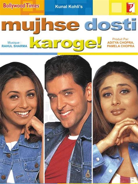 film streaming bollywood mujhse dosti karoge film 2002 allocin 233