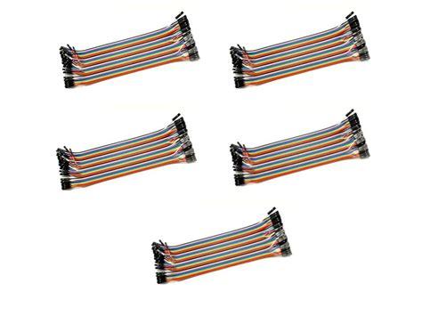 Jumper To 40 Pin 20 Cm 5x 40 pin dupont jumper kabel 20 cm arduino prototyping ebay