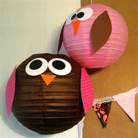owl decorations diy birds craft 24 easy paper owl craft ideas for