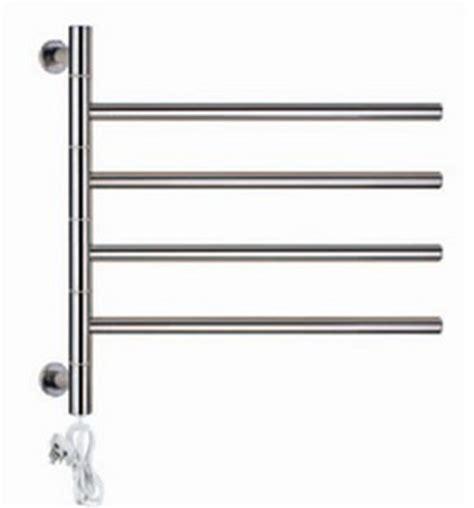 bathroom towel dryer rotatable heated towel rail holder bathroom towel rack stainless steel electric