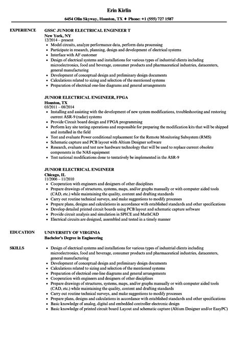 sle resume of an electrical engineer electrical engineering houston best pictures and