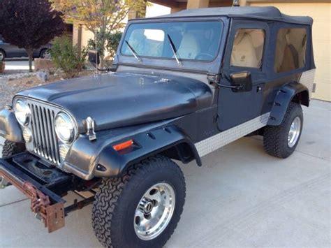 jeep scrambler for sale on craigslist 1982 jeep scrambler cj8 v8 manual for sale ballston ny