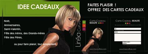 promotions linea accueil du site du salon de coiffure