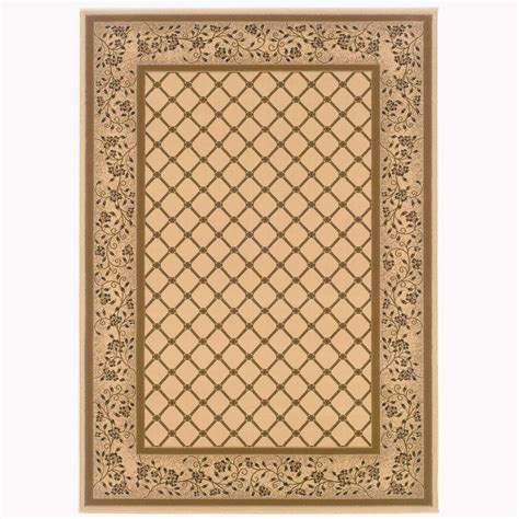 Natco Rugs by Natco Kurdamir Derby Ivory 5 Ft 3 In X 7 Ft 7 In Area
