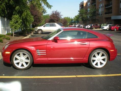 how cars run 2004 chrysler crossfire regenerative braking buy used 2004 chrysler crossfire base coupe 2 door 3 2l in tinley park illinois united states