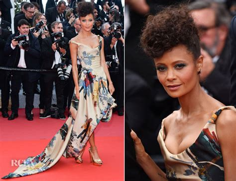 Catwalk To Carpet Thandie Newton by Thandie Newton In Vivienne Westwood Couture For The Green