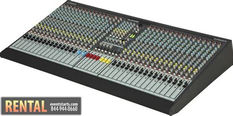 Mixer Allen Heath 8 Channel rent allen heath gl2400 32 channel audio mixer console