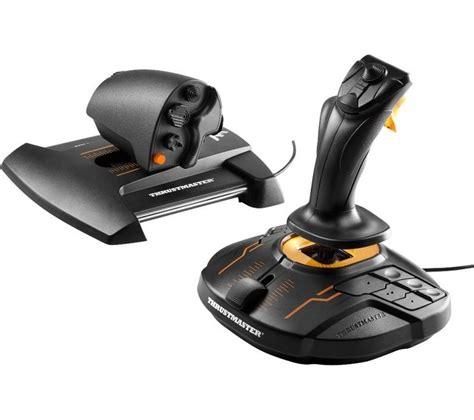 Stick Controller Usb Pc Joystick Joystik Wlc We 830d 1 thrustmaster t 16000m hotas joystick black deals pc world