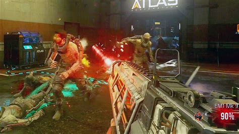 Exo Zombies Gameplay | call of duty advanced warfare exo zombies gameplay