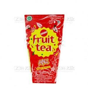 Fruit Tea Teh Rasa Apel Kaleng jual beli minuman teh rasa apel fruit tea