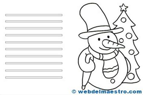dibujos de navidad para colorear tamaño carta tarjetas de navidad para colorear web del maestro