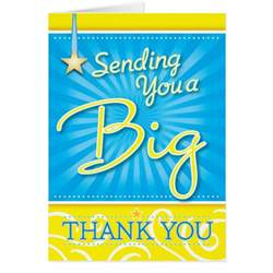 a big thank you card zazzle