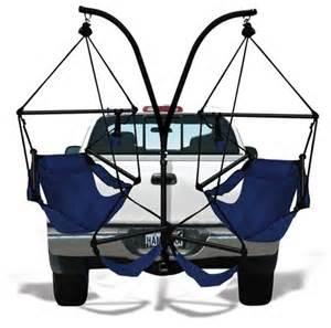hitch chair hammaka trailer hitch hammock chair stand craziest gadgets