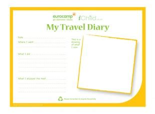 trip diary template diary writing template new calendar template site