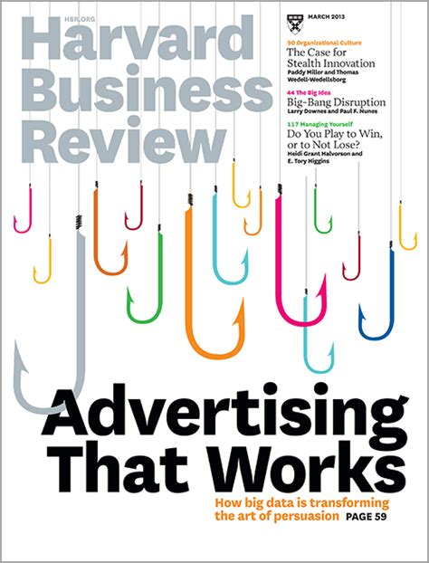 Harvard Business Review Hbr Creativity In Advertising for mobile devices think apps not ads