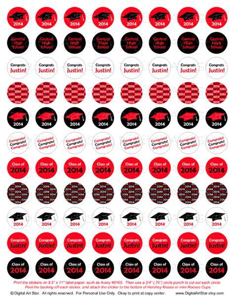 printable graduation stickers digital art star printable party decor printable