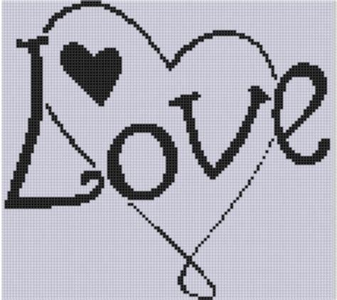 heart pattern for cross stitch love heart 2 cross stitch pattern by motherbeedesigns