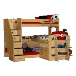 Bunk beds for kids with slide style with kids bedroom furniture canada