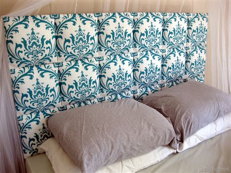 easy upholstered headboard tutorial reality daydream