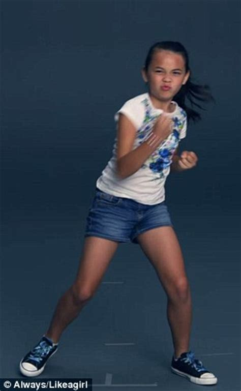 commercial girl running like a girl super bowl commercial sparks likeaboy