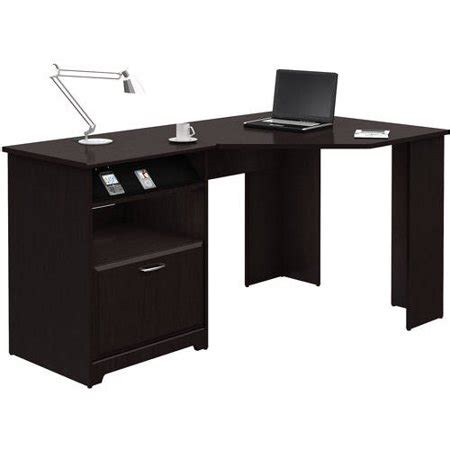 walmart corner desk bush furniture cabot collection corner desk walmart